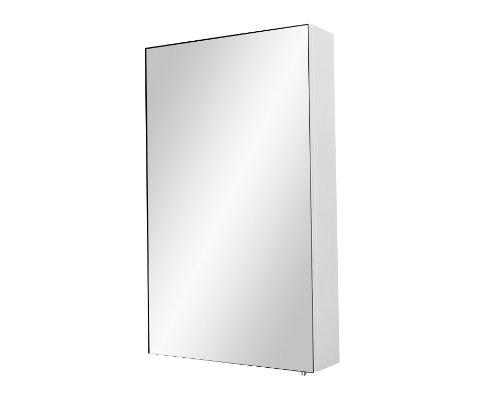 Infinity Snow White Maxi Single Door Bathroom Cabinet