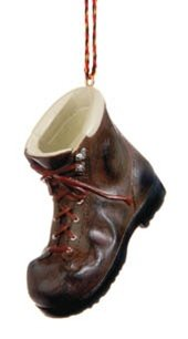 Hiking Boot Christmas Ornament