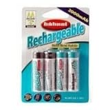 Hahnel Ultra High Capacity Rechargeable NiMH AA 2350mAh Batteries (4 Pack)by Hahnel
