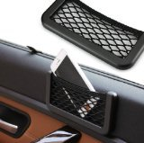 Hanging style Multifunctional compartment mesh bag Car Storage Car Accessories/small objects/gum/cosmetic money/glasses/phone - 1