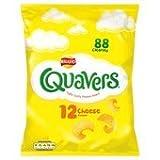 Walkers Quavers Cheese Snacks 12 X 16G