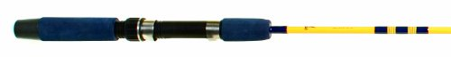 Eagle Claw Brave Eagle Ice Spinning Rod, 1 Piece (Yellow, 3-Feet)