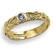 14k Yellow Gold – Cubic Zirconia – Baby/Children's Ring