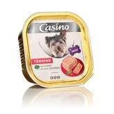 Casino - CASINO Barquette de terrine au lapin et légumes - 300g (x18) - Pour chien adulte