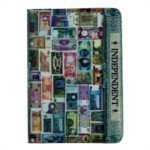 Creative Paper Currency Style Passport Holder Case