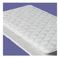 Naturepedic Twin Quilted Deluxe 2-Sided Mattress