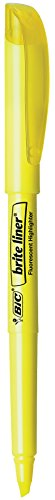 bic-brite-liner-highlighter-chisel-point-yellow-24-count