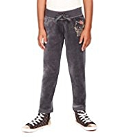 Hello Kitty Cotton Rich Velour Joggers