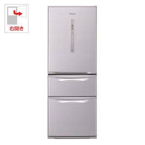 パナソニック 321L 3ドア冷蔵庫(シャイニングピンク)Panasonic エコナビ NR-C32DM-P