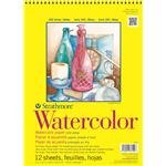 Strathmore 300 Series Watercolor Paper 9 in. x 12 in. pad pad of 12 wire bound
