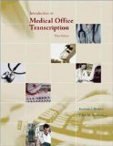 img - for Introduction to Medical Office Transcription Package w/ Audio Transcription CD 3rd Edition by Becklin, Karonne, Sunnarborg, Edith [Spiral-bound] book / textbook / text book