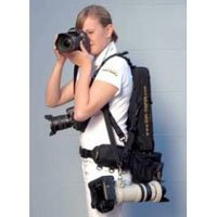 Sun Sniper Triple Press Harness Kit with Camera Bag, Waist Bag and ID Holder