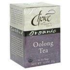 Choice Organic Teas Tea, Organic Oolong 16.0 Ct (Pack Of 3)