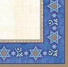 Judaic Expressions 16'' Dinner Napkin - 8/Pkg.