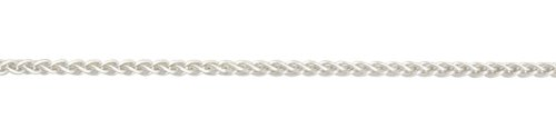 Silver Medium Spiga Chain 46cm