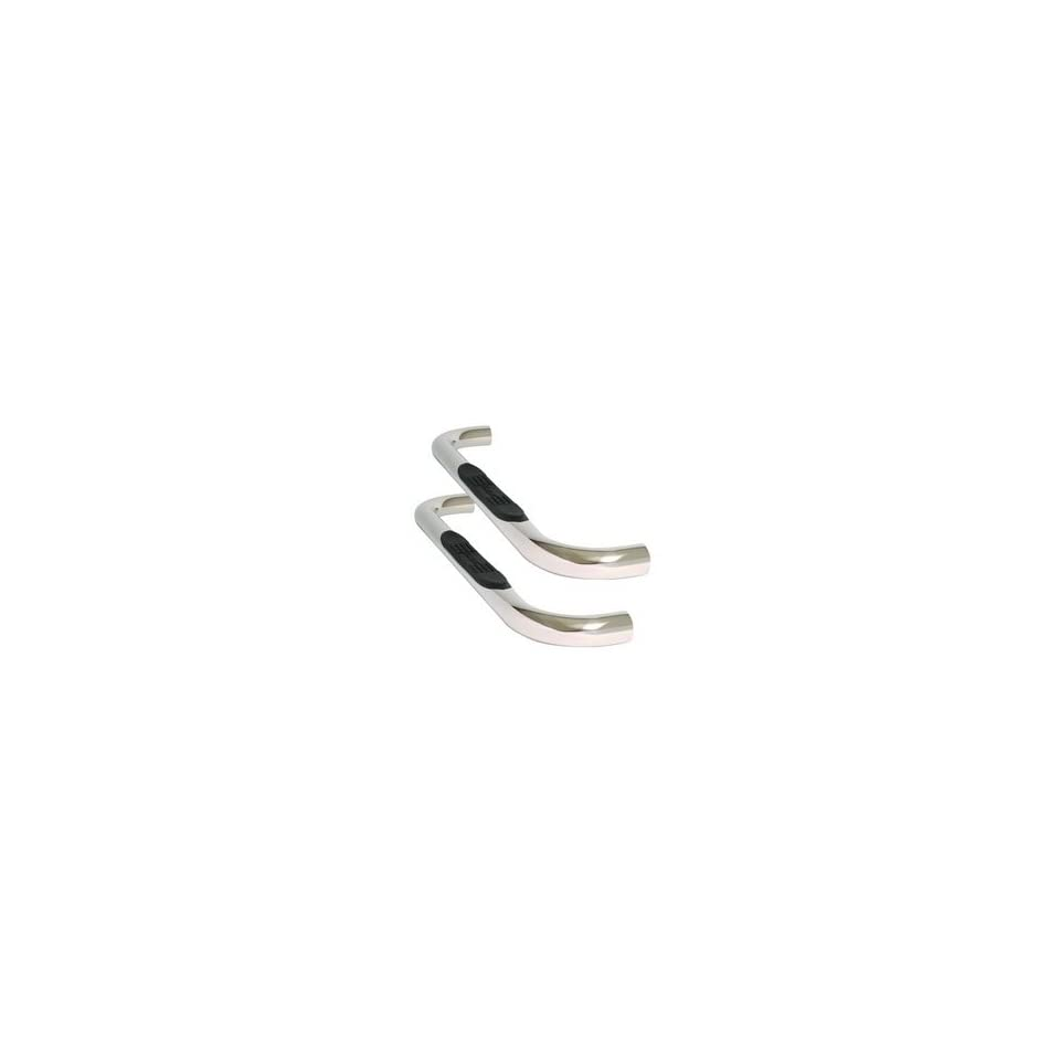 Dee Zee DZ371333 3 Round Stainless Steel Tube Steps