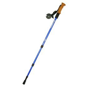 Hammers HP5 Anti-Shock Hiking Pole with Compass & Thermometer