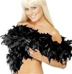 Feather boa - black - great for hen a...