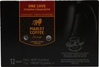 Marley Coffee 100% Organic One Love Single Serve