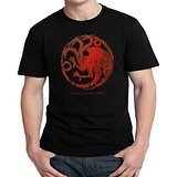 game of thrones dragons, death and debauchery for Men T-shirt