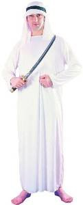 Sale Adult Funny Arabian Sultan Arab Sheik Mens Fancy Dress Costume Party Outfit