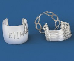 Polished Cuff Bracelets