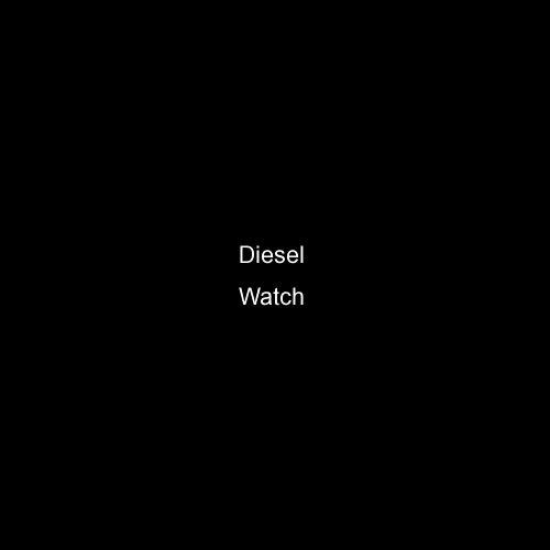 Diesel Chronograph IP Bracelet Black Dial Men's watch #DZ4180