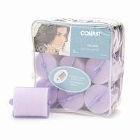 Conair Brush Big Curls Rollers, Volume and Lift, 9 pcs