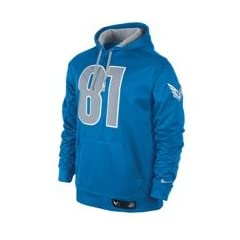 NIKE CJ81 SHIELD NAILHEAD PULLOVER (CALVIN JOHNSON) Mens TRAINING HOODIE Large L by Nike