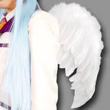 天使の羽根 天使の翼 エンジェルホワイト ミドルサイズ コスプレ