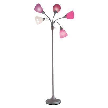 Room Essentials® 5-Head Floor Lamp - Pink
