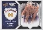 Michael Phelps (Basketball Card) 2009-10 Draft Edition Alma Mater #AM-MP