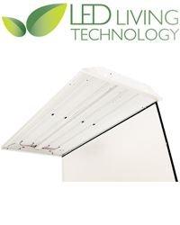 Led Living Technology C24N4L40 Led Retrofit Kit For 2X4 4-Lamp Fluorescent Troffer Claris 60W On/Off Control - 4000K