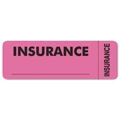 Medical Labels for Insurance, 1 x 3, Fluorescent Pink, 250/Roll by TabbiesÃÃ\'Â\'ÃÂ\'Ã\'®