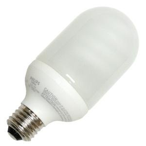 Philips 152895 El O Outdoor Post 14w Bullet Screw Base Compact Fluorescent Light Bulb