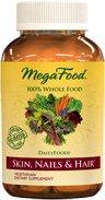 MegaFood - DailyFoods Skin Nails & Hair - 90 Vegetarian Tablets