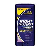 Right Guard Sport Antiperspirant & Deodorant, Invisible Solid, Active, 2.8 oz. (017000068169)