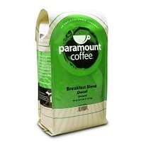 Paramount Coffee Breakfast Blend Decaf, Ground, 40-Ounce (2.5 lb) Bag