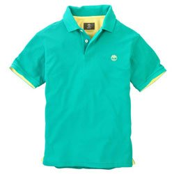 TIMBERLAND Earthkeepers Solid Colour Piquet Polo Uomo XL