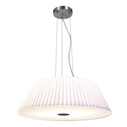 Access Lighting 50959-BS/WH Leilah Cable Large Pendant Light