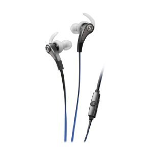 Audio Technica Sonic Fuel ATH-CKX9iS In-ear headphones ( earphone ) with In-line Mic &Control, Silver [parallel import goods]
