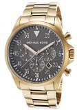 Michael Kors MK8361 45mm Gold Steel Bracelet & Case Mineral Men's Watch