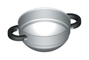 BRK 631210 20cm Double Boiler