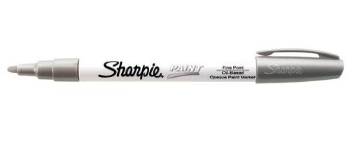 sharpier-permanent-paint-marker-fine-point-silver-sold-as-1-each-oil-based-opaque-paint