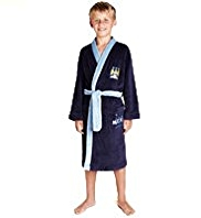 Manchester City F.C Dressing Gown with StayNEW™