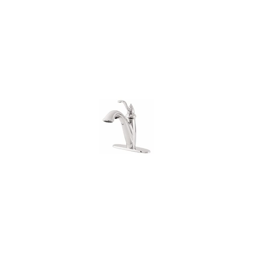 Price Pfister 4 Hole Pull Out Faucet T532 7PCC Polished Chrome