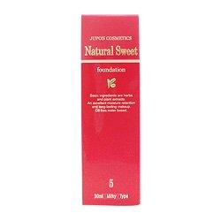 ジュポン化粧品 ジュポンナチュラルスィートファンデーションNo.5 30ml