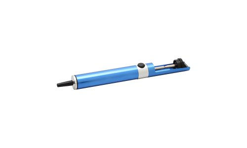 Aven 17537 Desoldering Pump with Anti-Static Tip, Blue