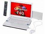 東芝 dynabookQosmioF40/85C T7100/15.4W/512Mx2/120G/S-Multi/Digital/HomePrem/Offi2007 PQF4085CLP