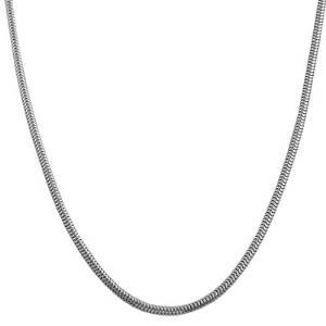 Silver Serpentine Snake Cobra Jewelry Necklace Chain or Deluxe Closet Hanging Organizer Best Gift